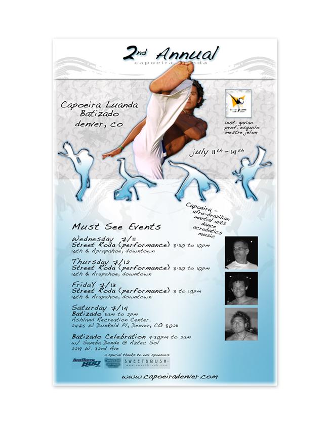 Capoeira-Denver-Poster