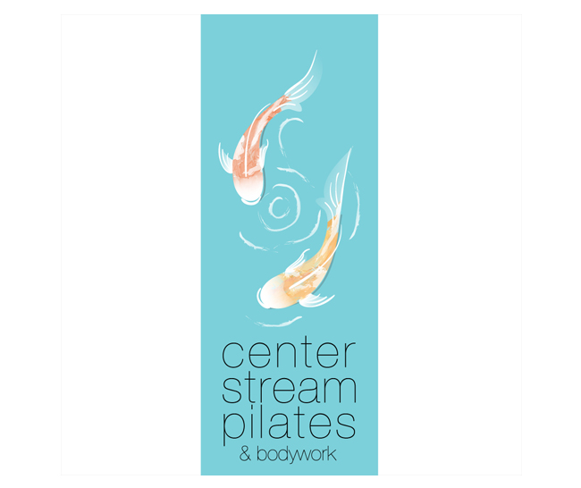 Center Stream Pilates and Bodyworks Branding