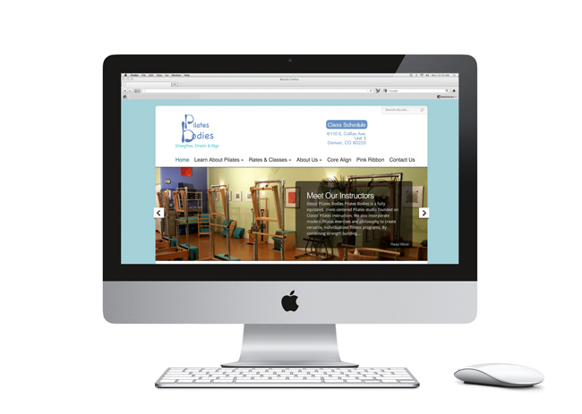 Pilates Bodies Website