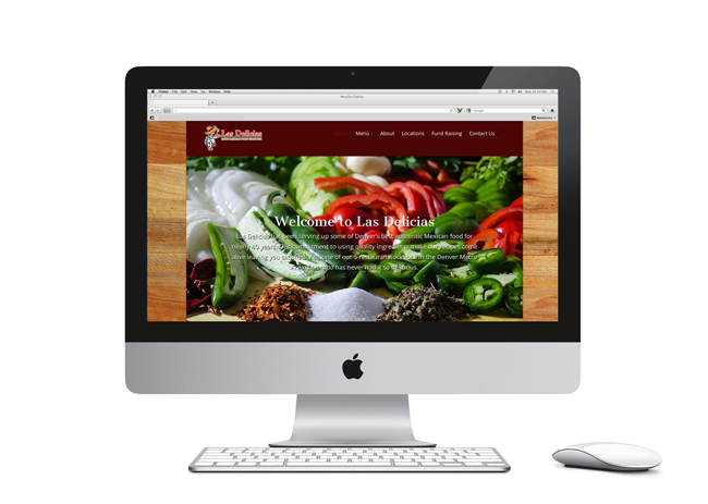 Las Delicias Website