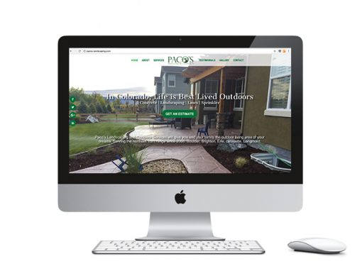 Paco's Landscaping Website