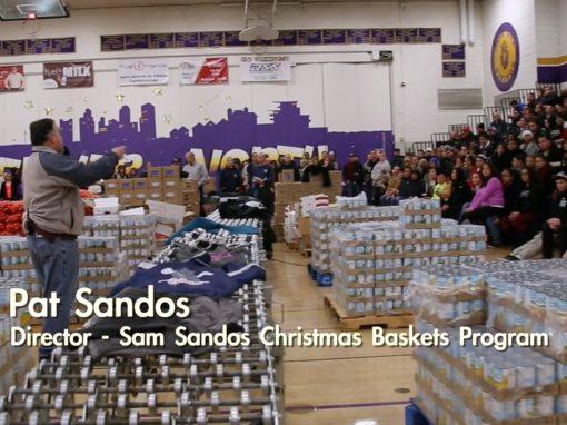 Sam Sandos Christmas Baskets Program