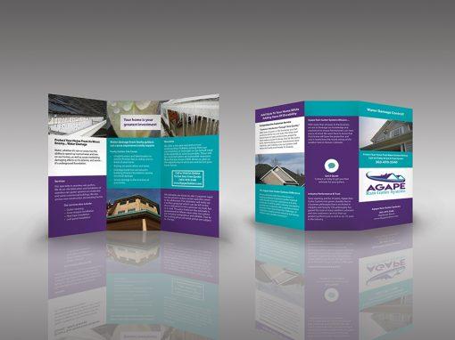 Agape Gutter Systems Brochure