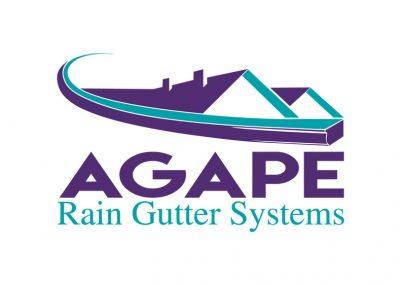 Agape Rain Gutter Systems Logo