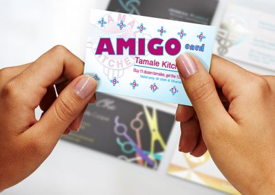 Tamale Kitchen Business Card