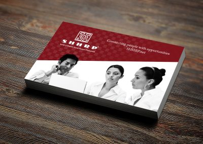 Society of Hispanic Human Resource Professionals Business Card