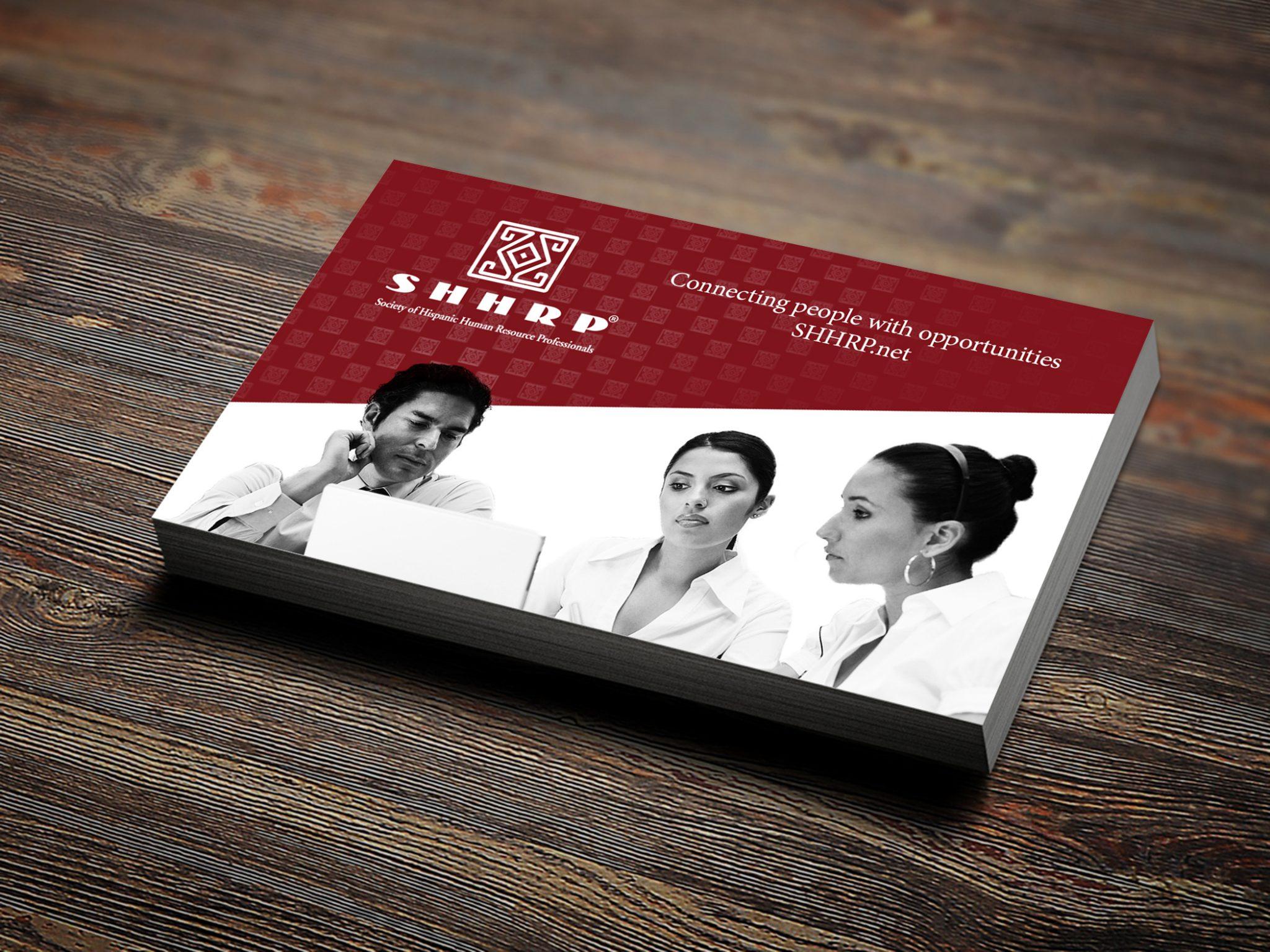 Society of Hispanic Human Resource Professionals Business Card