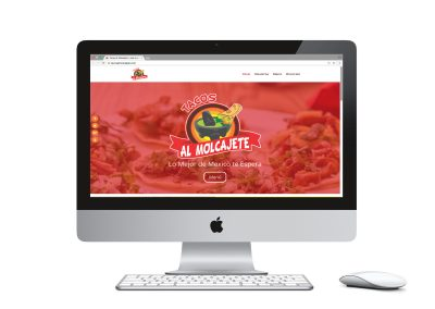 Tacos El Molcajete Website