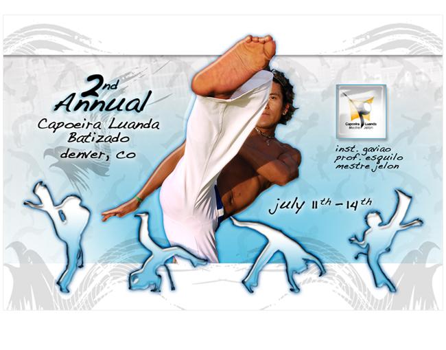 Capoeira Denver Branding