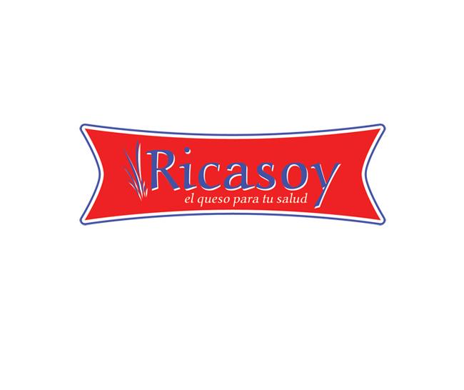 Ricasoy Dairy Logo Design