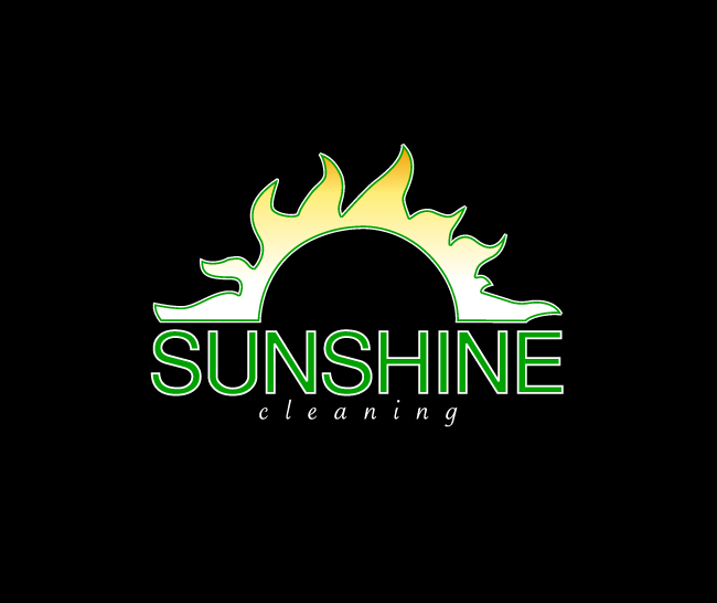 Sunshine Cleaning Branding & Logo Design