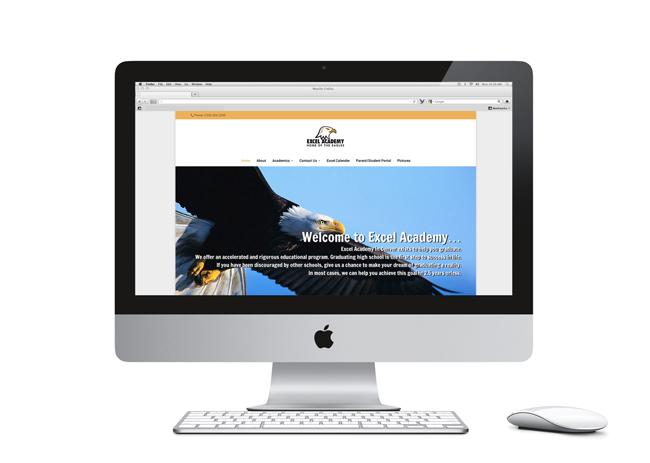 Excel Academy Website