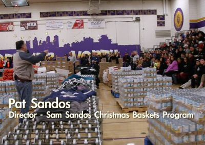 Sam Sandos Christmas Baskets Program