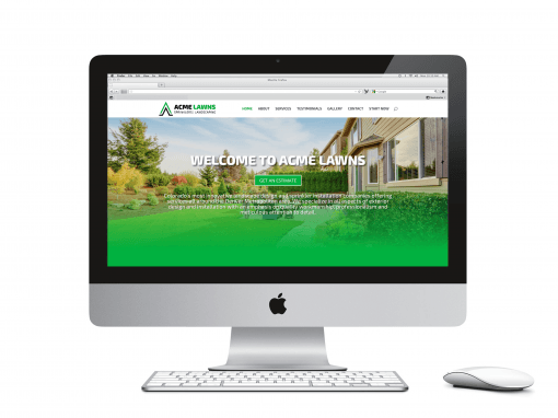 Acme Lawns Website