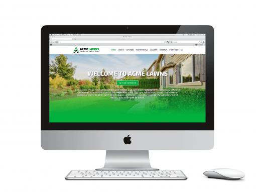 Acme Lawns Website