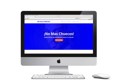 No Mas Chuecos Website