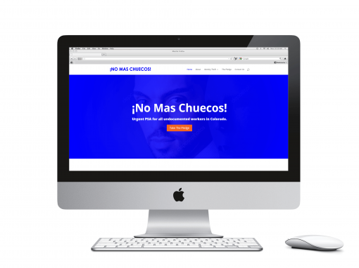 No Mas Chuecos Website