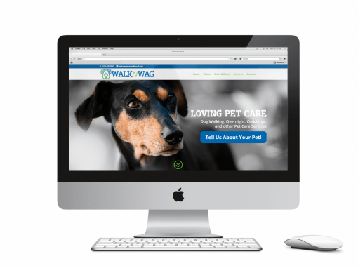 Walk n Wag Website
