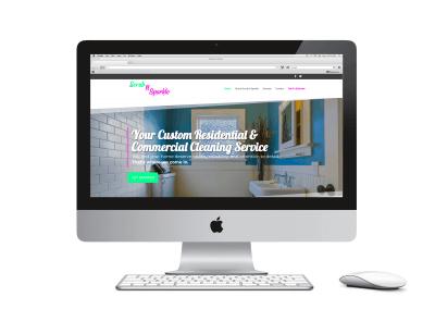 Scrub n Sparkle Website