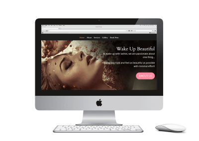 Wake Up With Lashes Website